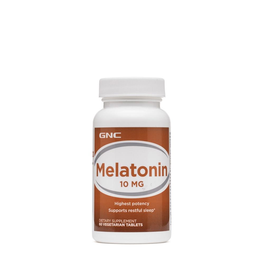 MELATONIN 10 Gnc (60 капс)