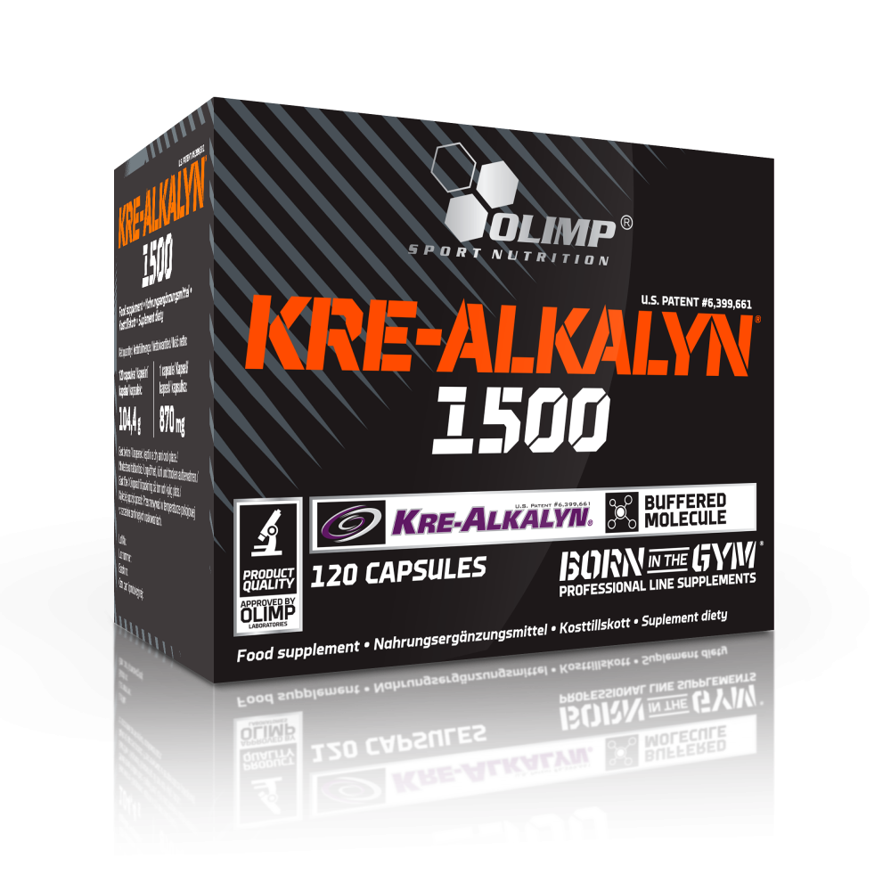 Kre-Alkalyn 1500 Olimp (120 капс.)