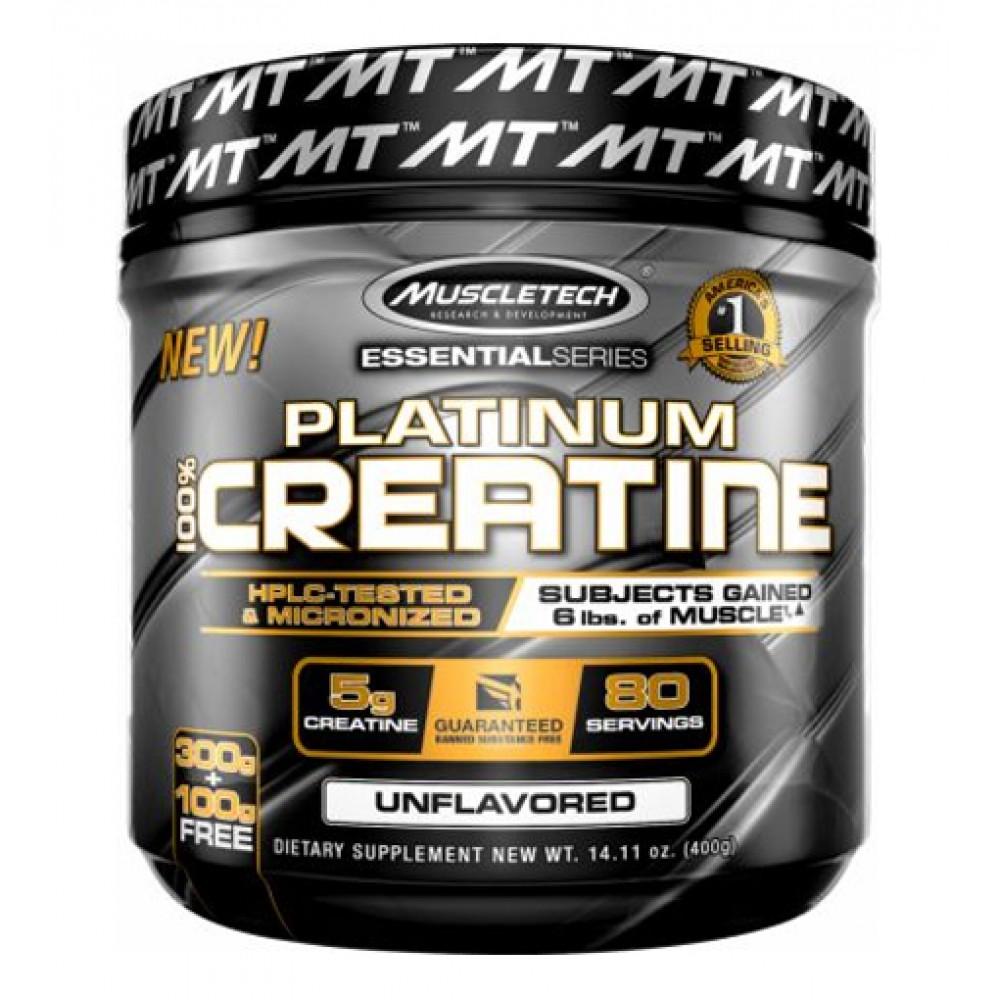 Platinum 100% Creatine MuscleTech (400 гр)