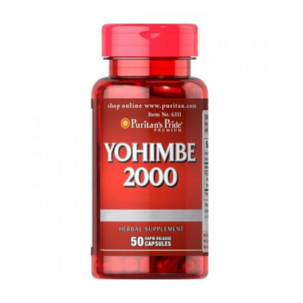 Yohimbe 2000 mg 50caps