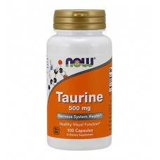 Taurine 500 mg NOW (100 капс)