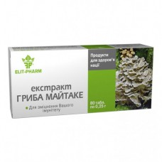 Екстракт гриба Майтаке Elit-Pharm (80 капс)