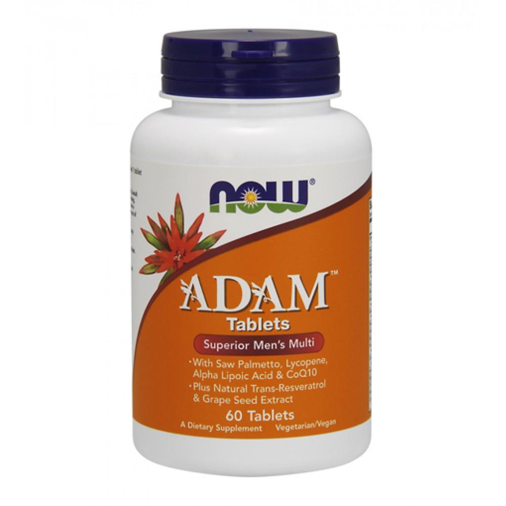 ADAM Tablets Superior Mens Multi NOW (60 табл)