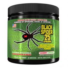 Предтренировочный комплекс Black Spider Cloma Pharma (210 г)