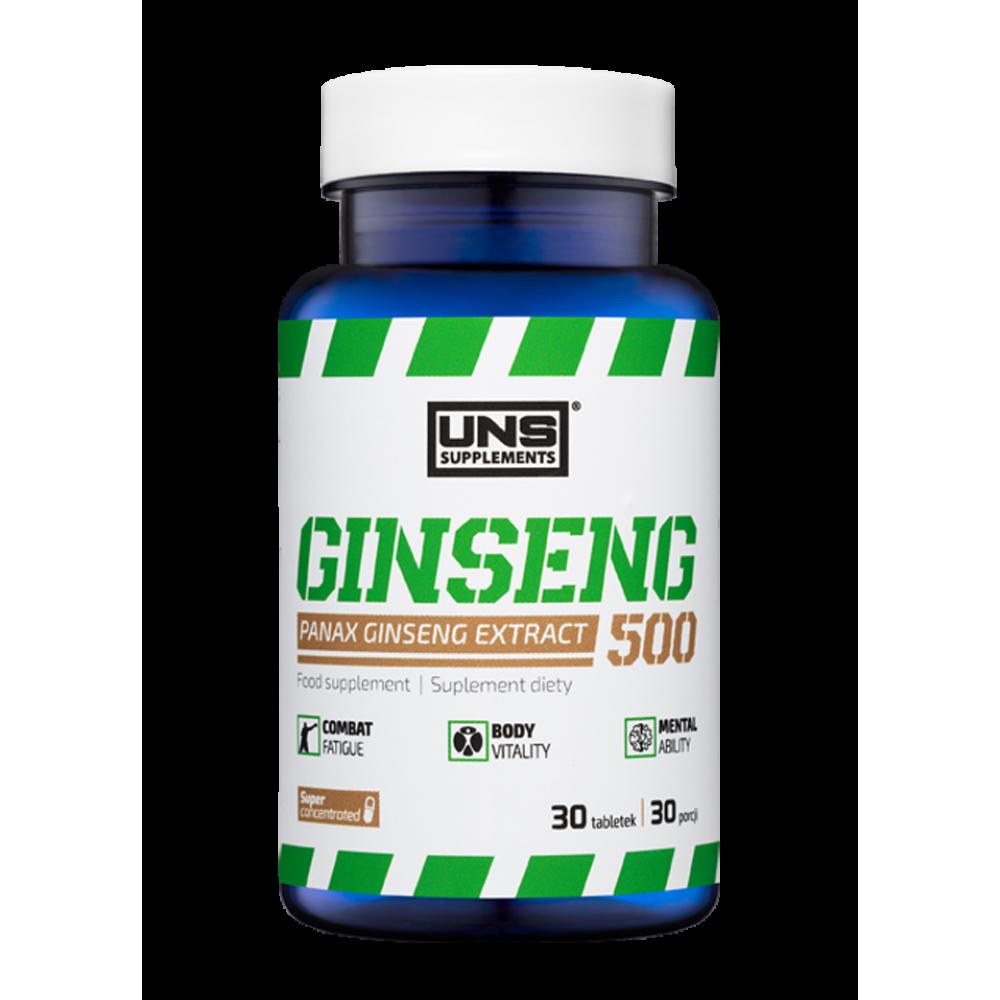 Ginseng 500 UNS Supplements (30 табл)