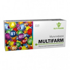 Мультифарм  Elit-Pharm (40 капс)