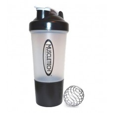 Шейкер Shake SmartShake grey MuscleTech с шариком (500 мл)
