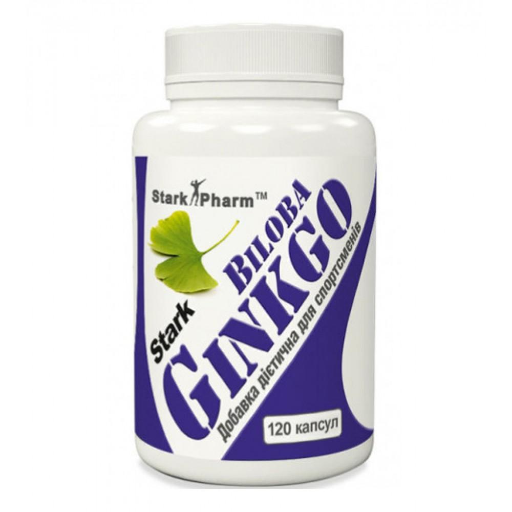 Ginkgo Biloba Extract Stark Pharm (120 капс)