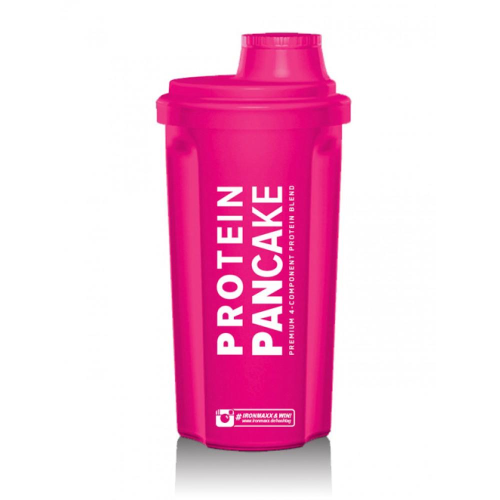 Shaker with Sieve Frozen Neon Pink IronMaxx (700 мл)