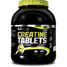 Креатин Creatine Tablets BioTech USA (200 табл.)