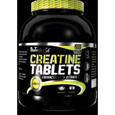 Креатин Creatine Tablets BioTech USA (200 табл.)