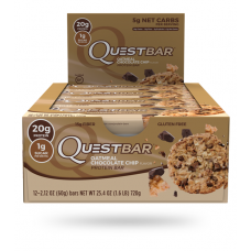 Quest Bar Oatmeal chocolate chip Quest Nutrition (60 гр)