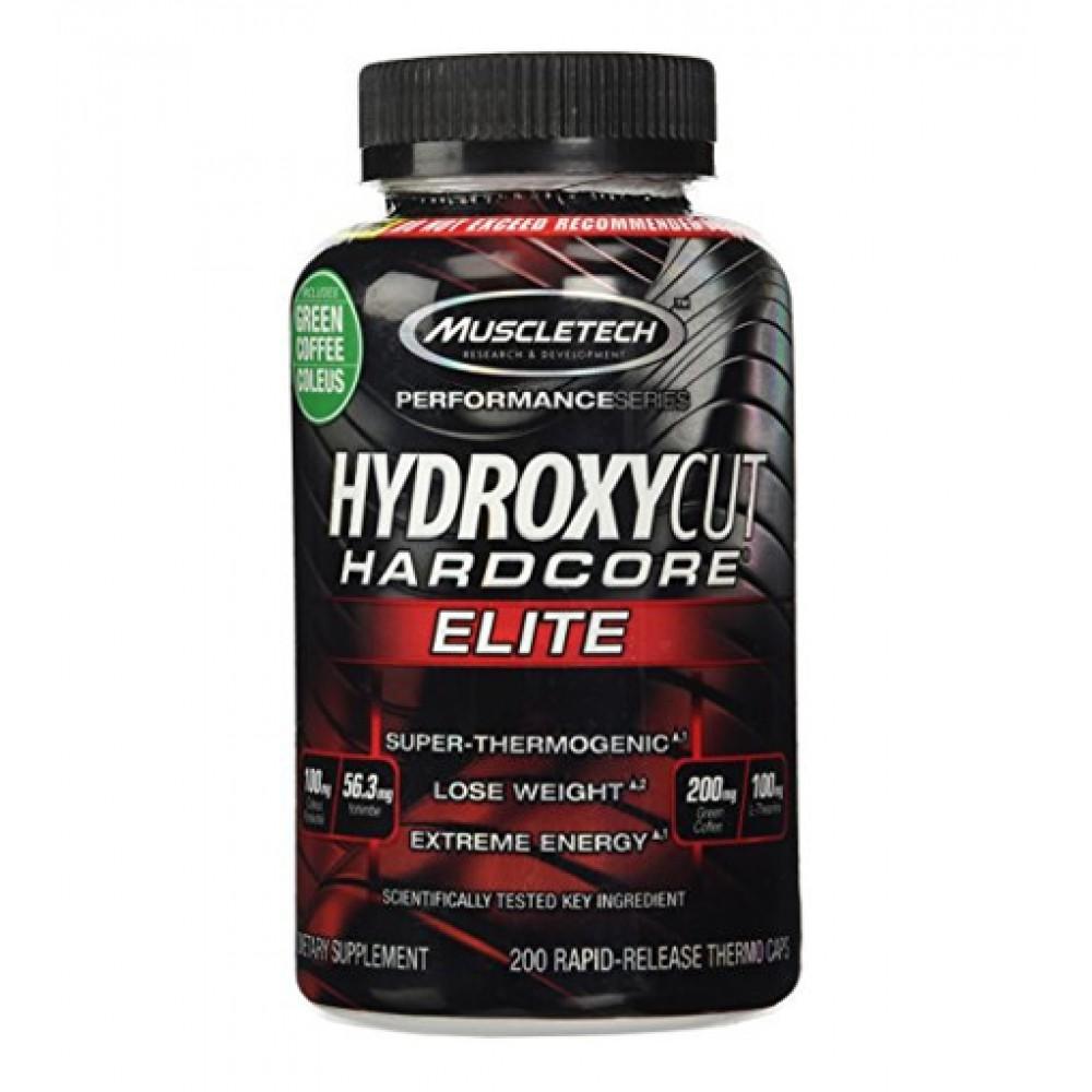 Hydroxycut Hardcore Elite MuscleTech (200 капс)