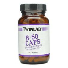 Витамины Vitamin B-50 Caps Twinlab 100 капс