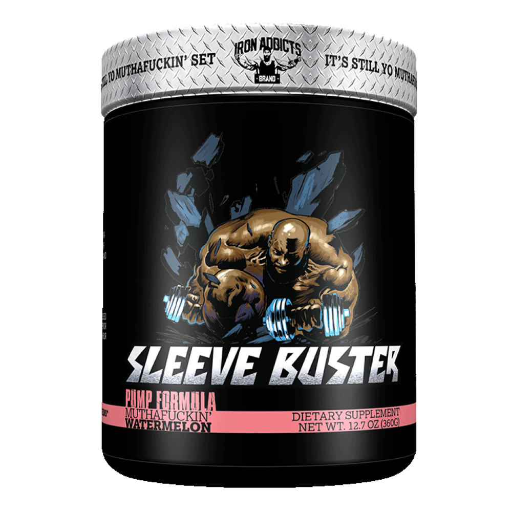 Sleeve Bustert Iron Addicts (360 гр)
