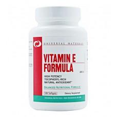 Vitamin E Formula 400 Universal Nutrition (100 капс)