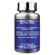 Taurine Scitec Nutrition (90 капс)