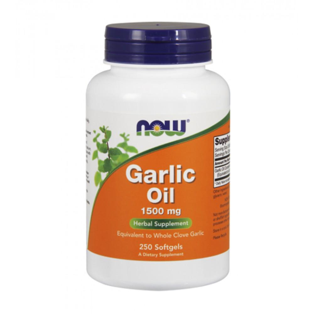 Garlic Oil NOW (250 капс)