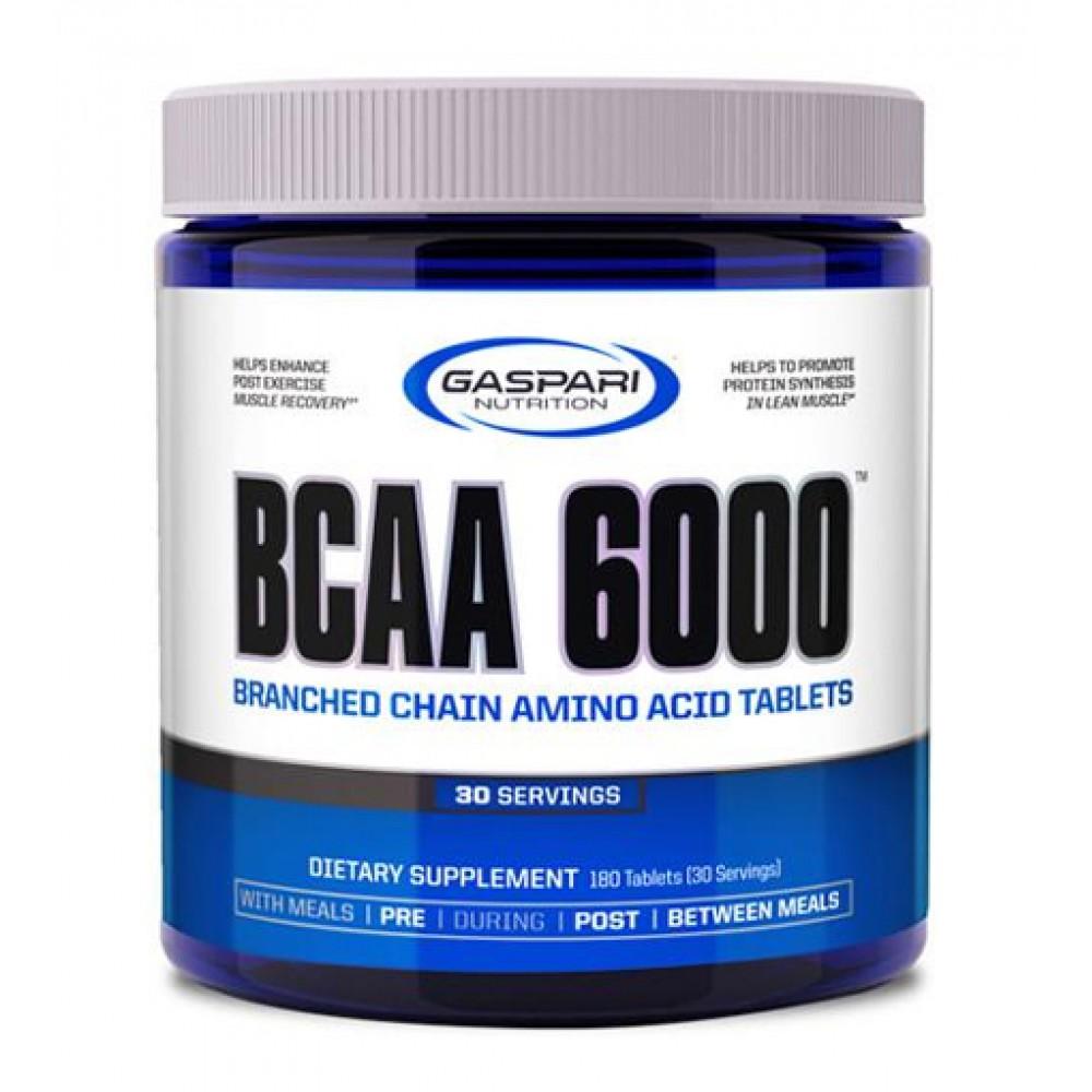 BCAA 6000 Gaspari Nutrition (180 табл)