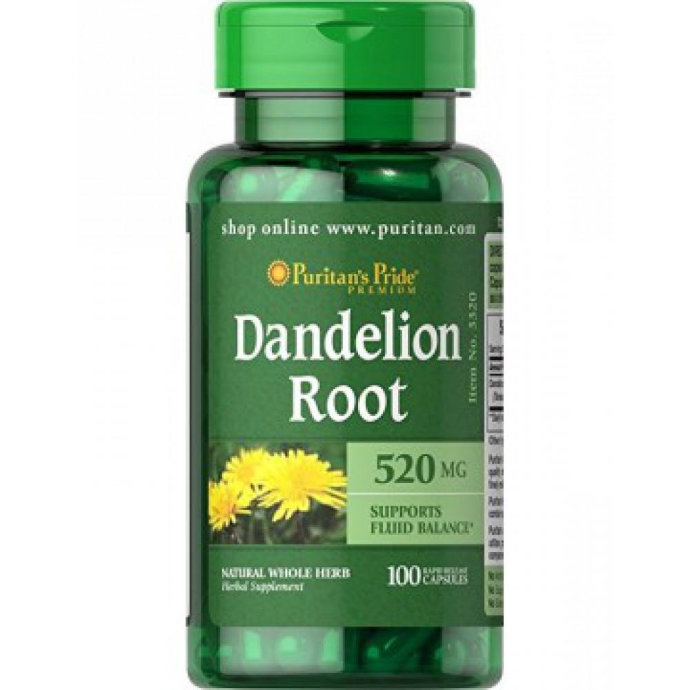 Dandelion Root 520mg 100 caps