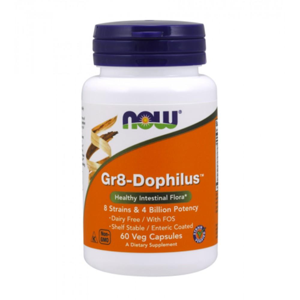 Gr8-Dophilus NOW (60 капс)