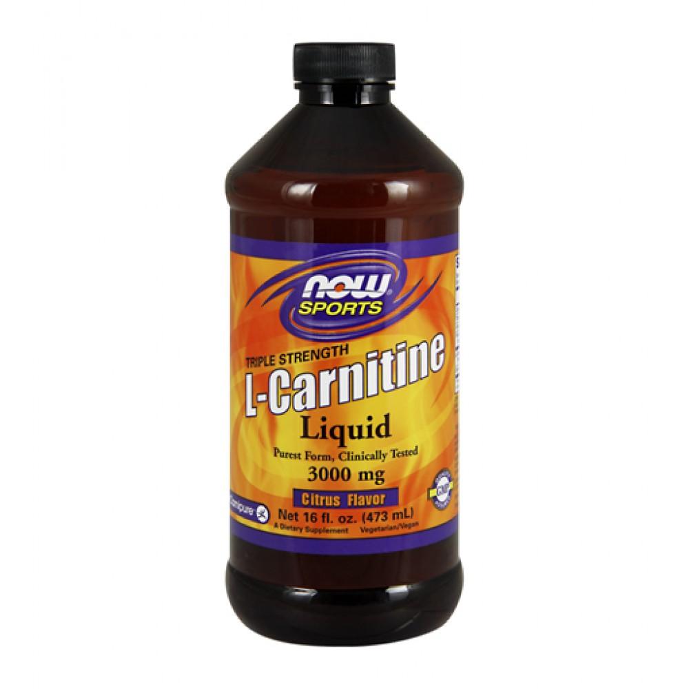 L-Carnitine Liquid NOW (473 мл)
