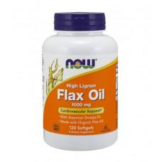 Flax Oil High Lignan NOW (120 капс)