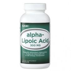 ALPHA LIPOIC ACID 300 Gnc (60 капс)