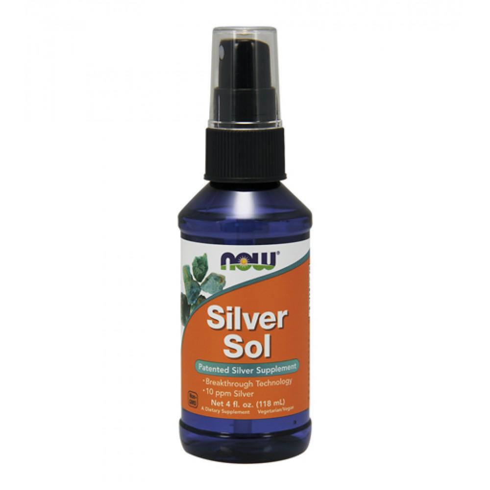 Silver Sol Liquid NOW (118 мл)