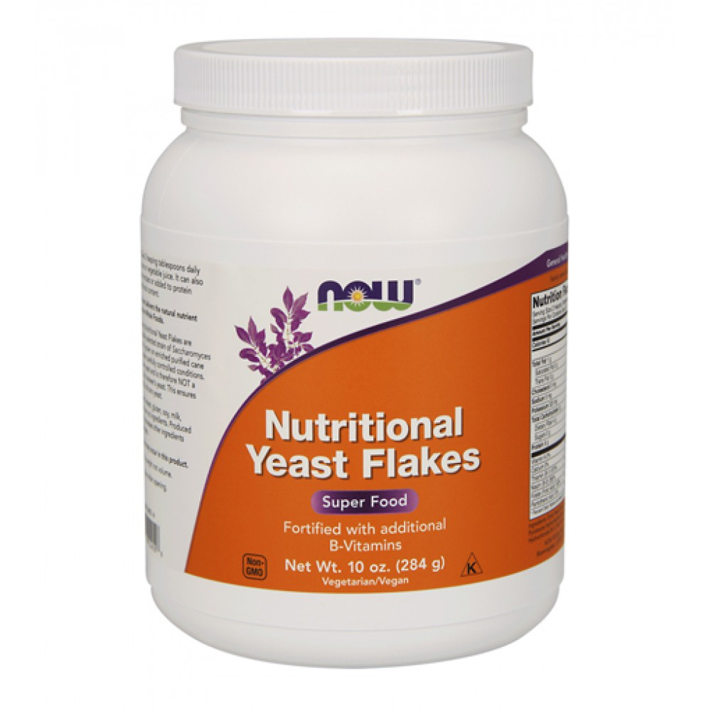 Nutritional Yeast Flakes NOW (284 гр)