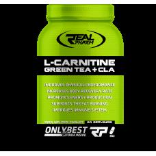 L-Carnitine Green Tea + Cla Real Pharm (90 табл)
