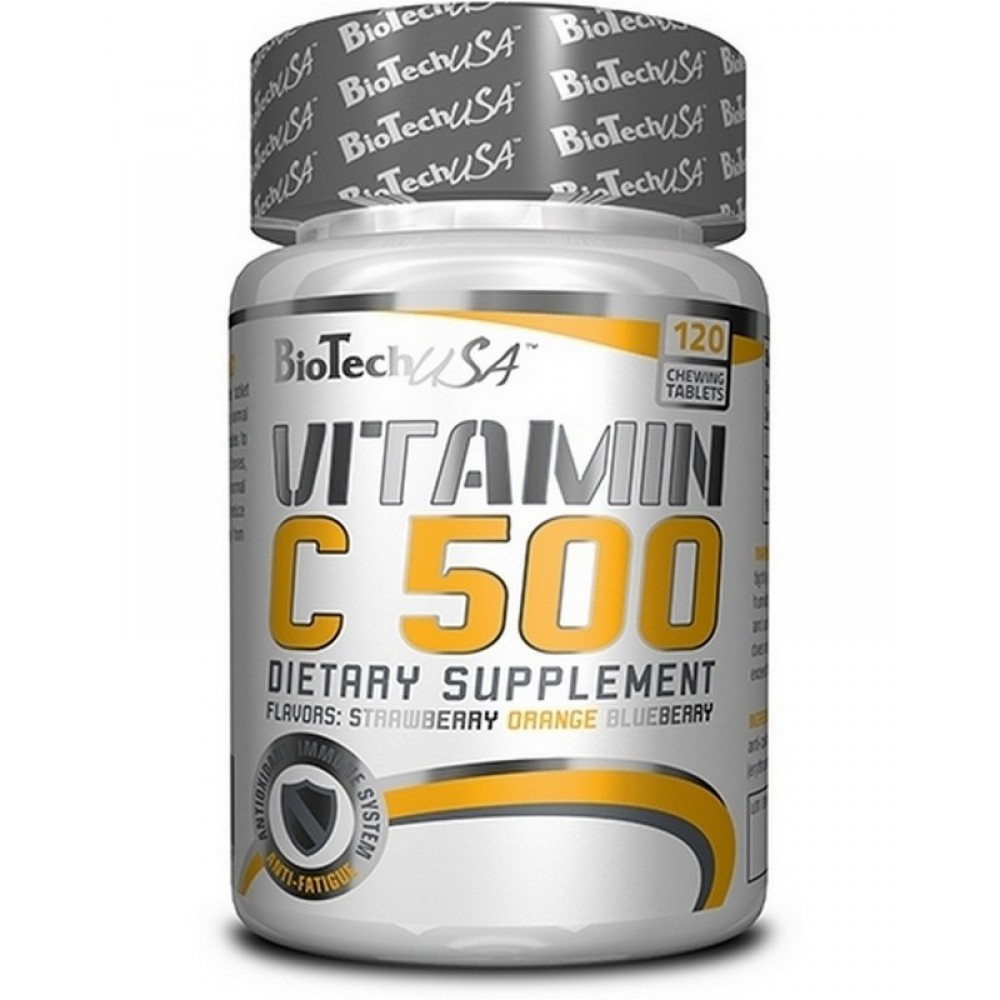 Витамины Vitamin C 500 BioTech USA (120 табл.)