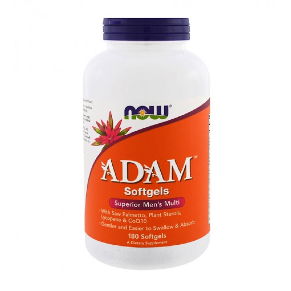 ADAM Men's Multiple Vitamin Softgels NOW (180 капс)