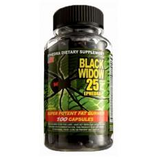 Жиросжигатель Black Widow Ephedra Cloma Pharma - Черная Вдова (100 капс)