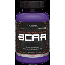 100% Crystalline BCAA Ultimate Nutrition (120 капс)