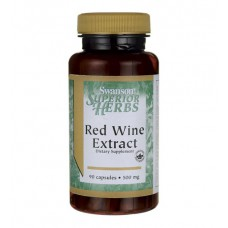 Red Wine Extract 500 mg Swanson (90 капс)
