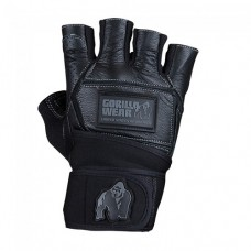 Перчатки мужские Hardcore Wrist Wraps Gloves Gorilla Wear Black