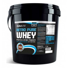 Протеин Nitro Pure Whey BioTech USA (4000 г)