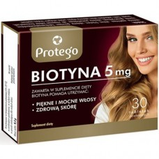 Protego Biotyna 5 mg Salvum Lab (30 табл)