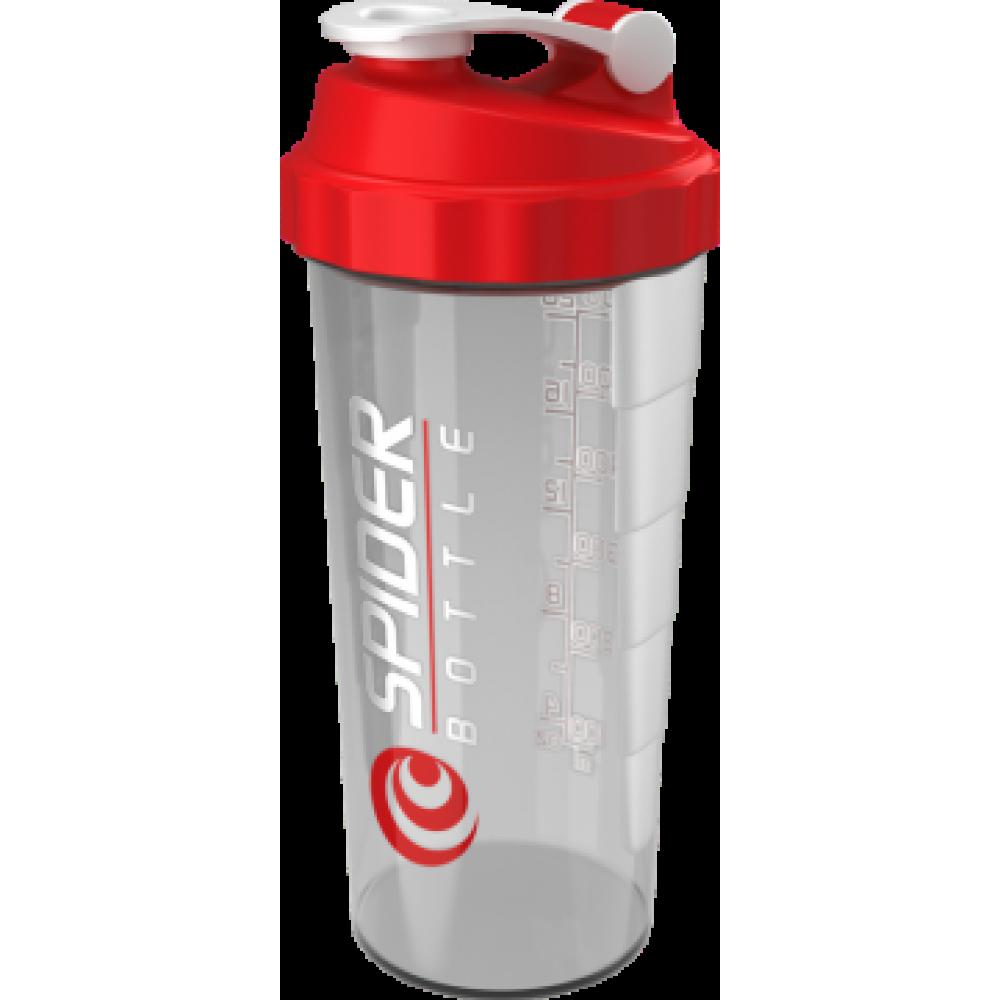 Spider Bottle MAXI Clear/Red Spider Bottle (800 мл)