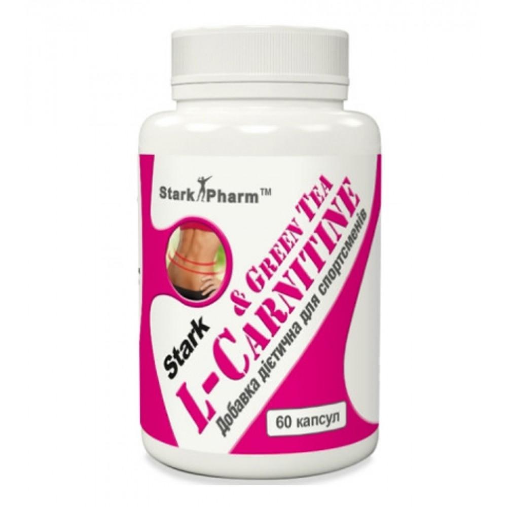 L-Carnitine & Green Tea Extract 600 мг Stark Pharm (60 капс)