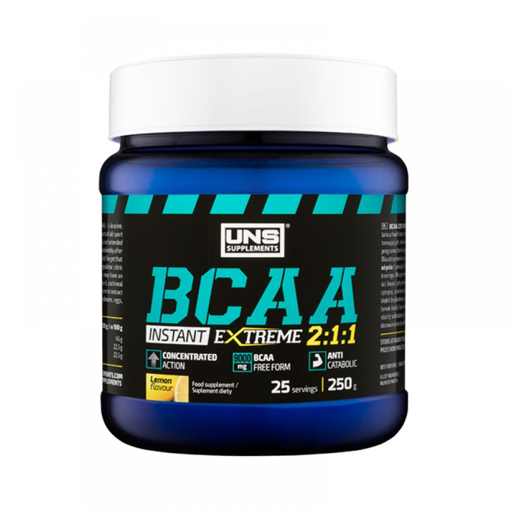 BCAA 2:1:1 Instant UNS Supplements (250 гр)