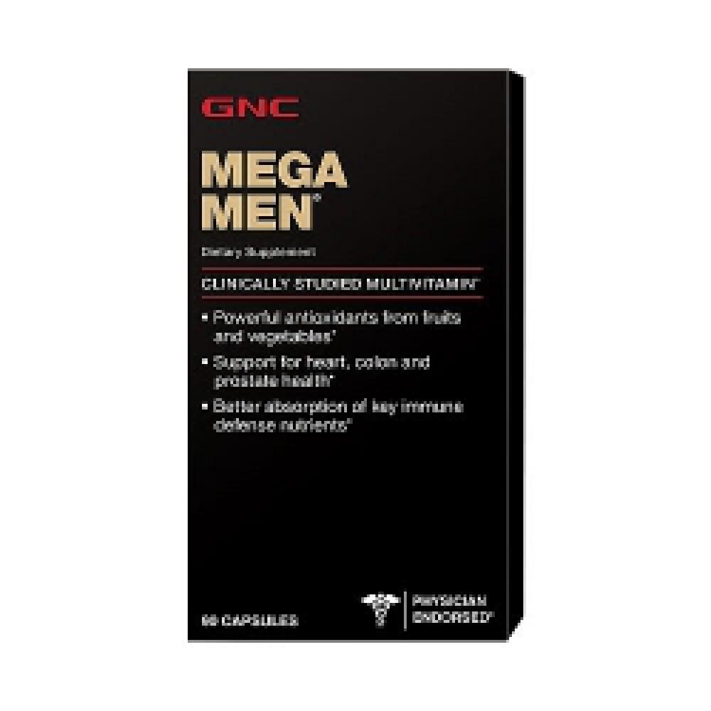 MEGA MEN Gnc (90 капс)