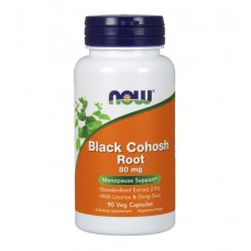 Black Cohosh Root 80 mg NOW (90 капс)