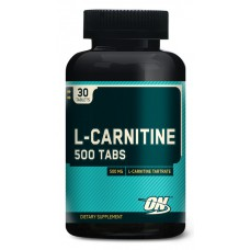 L-Carnitine 500 Tabs Optimum Nutrition (30 табл)