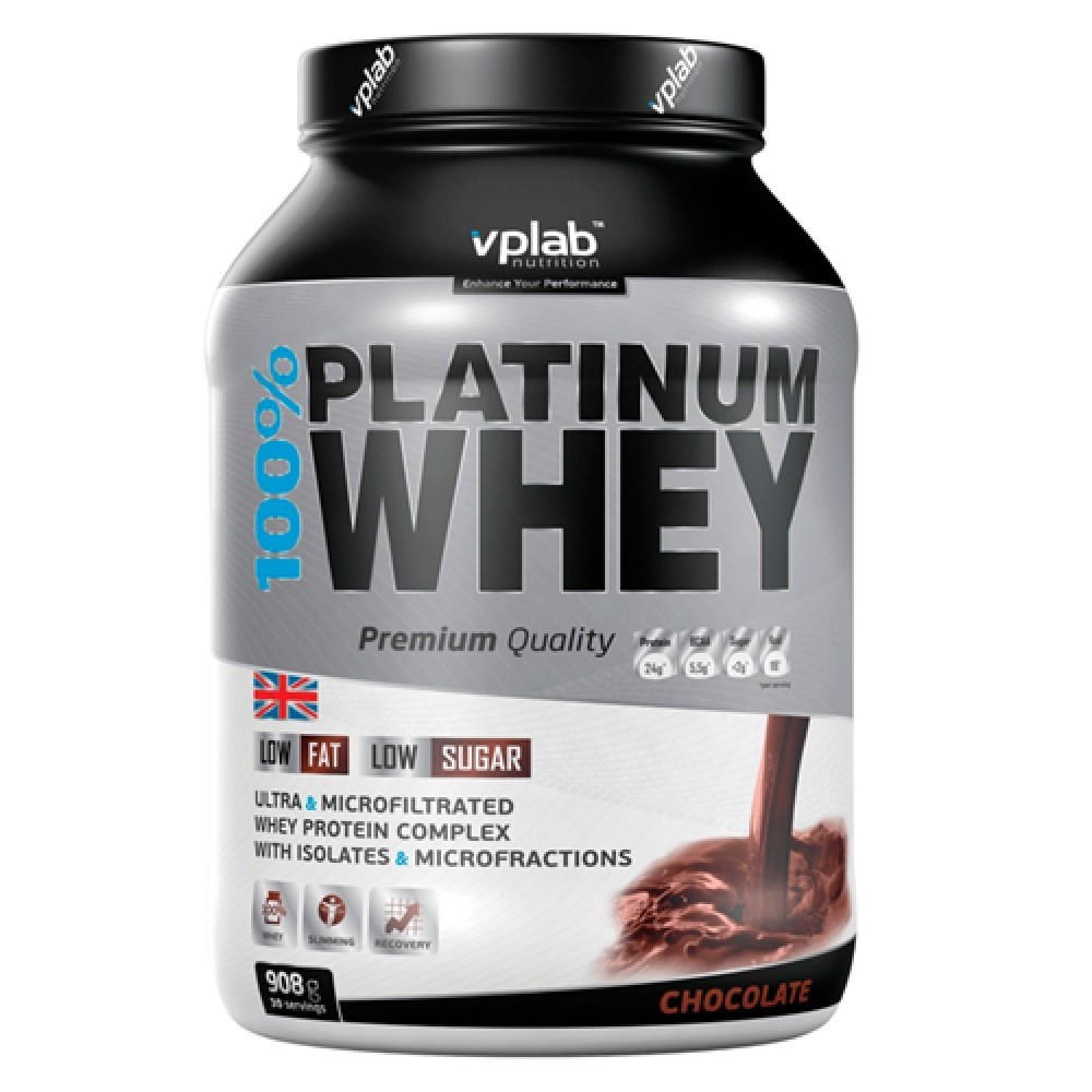 100% Platinu Whey VP Lab (908 гр)