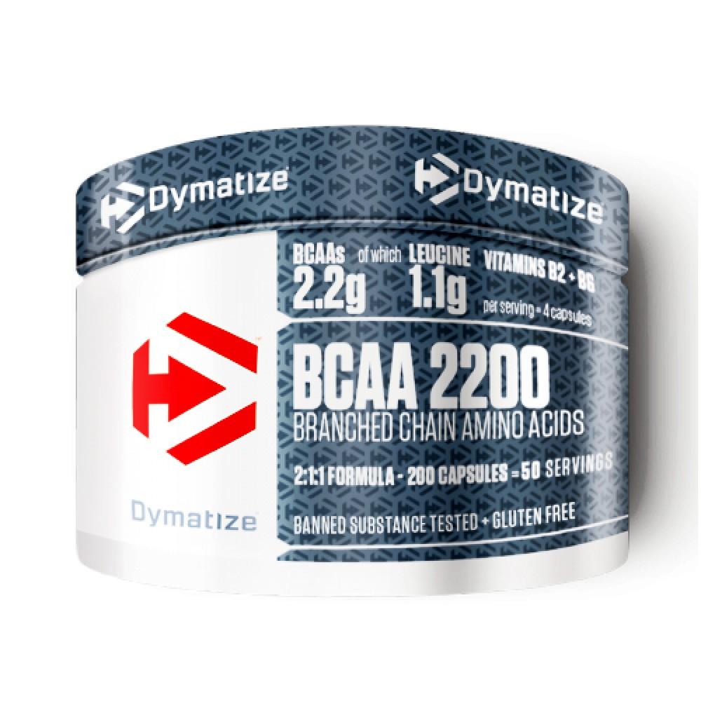 BCAA Complex 2200 Dymatize Nutrition (200 табл)
