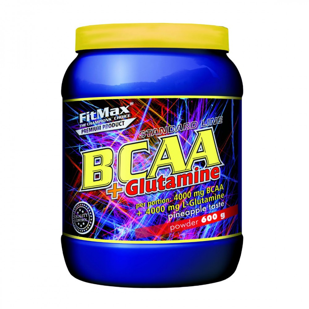 BCAA+Glutamine FitMax (600 гр)