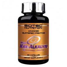 Mega Kre-Alkalyn Scitec Nutrition (80 капс)