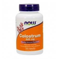 Colostrum 500 mg NOW (120 капс)